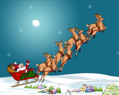 Шейната на Дядо Коледа (броеничка)
