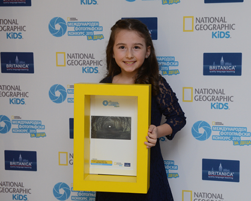 8-годишно българче спечели първо място в конкурса на National Geographic за деца!