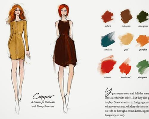 Кои са вашите цветови комбинации, според цвета на косата ви