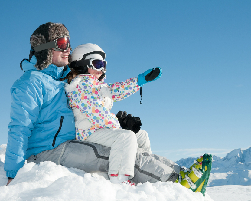 Деца в снега: 5 важни правила за щастлива зима