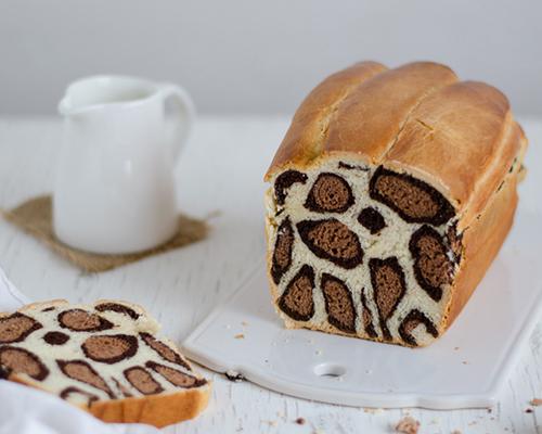 Леопардов хляб с мляко