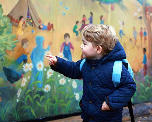 Малкият принц тръгна на детска градина и не пророни сълза