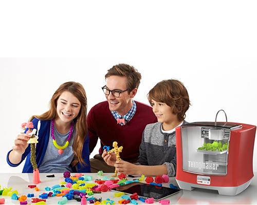 Децата сами ще създават играчки с нов 3D принтер
