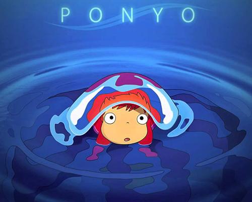Поньо от скалата край морето – японска анимация за деца