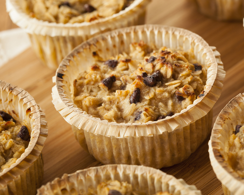 muffins with oatmeal