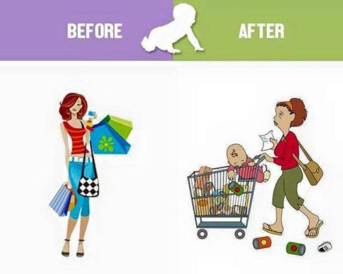 Животът преди и след децата