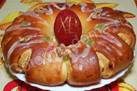 Великденска сладка пита