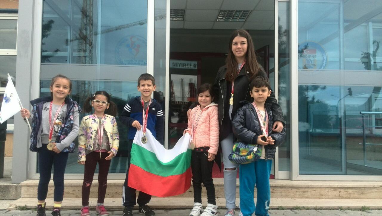 Деца от Карин дом представиха България на Балканските спортни игри за деца със специални нужди в Одрин