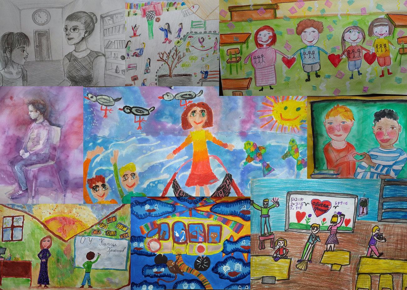 """Детското въображение победи в конкурсите """"Аз и моето училище"""""""