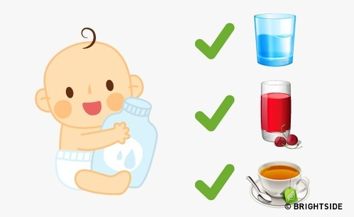Как да помогнем на бебето да се справи с летните жеги