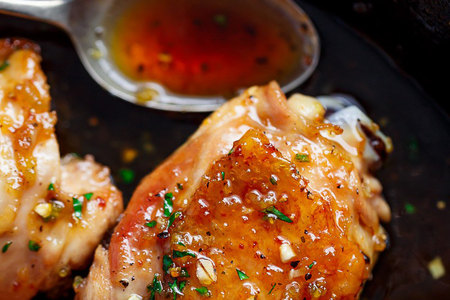 Easy-Honey-Garlic-Chicken-cafedelites-1