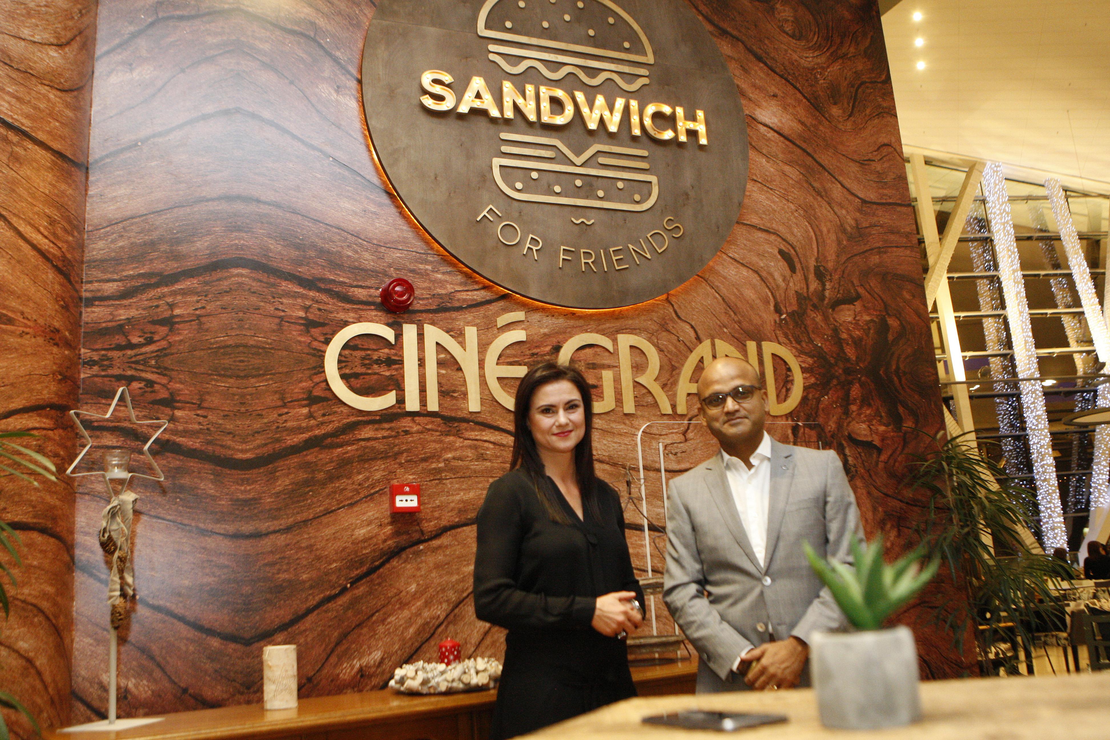 CINE GRAND откри кино ресторант