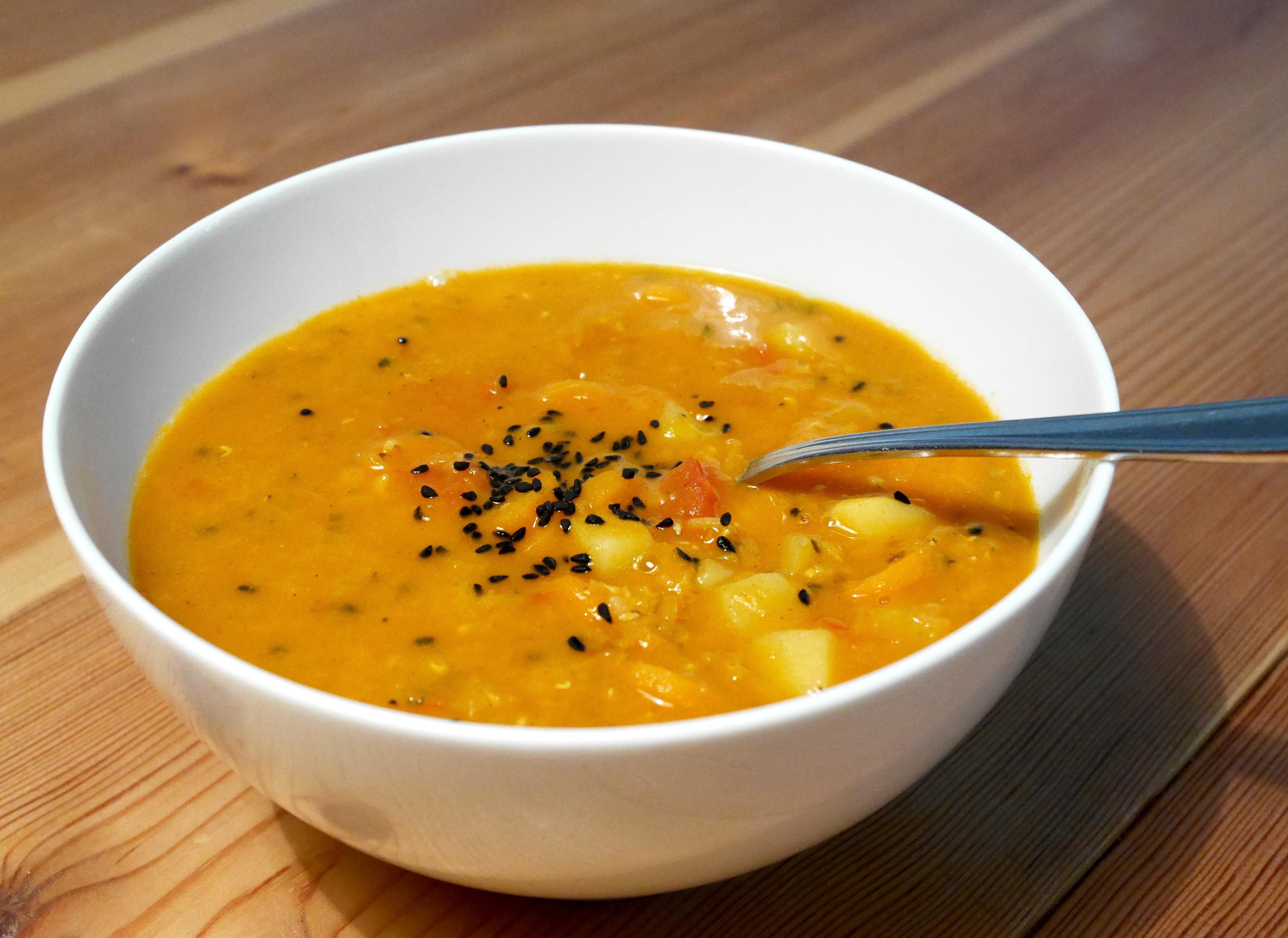 Топ 3 веган супи