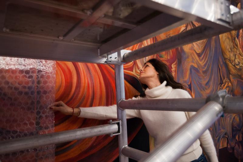 НДК с грижа за изкуството в сградата