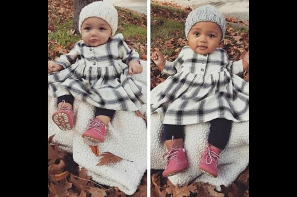 Американка роди близначки с различен цвят на кожата (+видео)