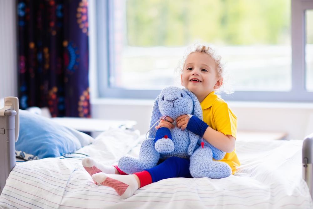 Пет идеи как да забавляваме болното дете