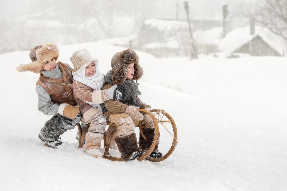 Сняг (детско стихче)