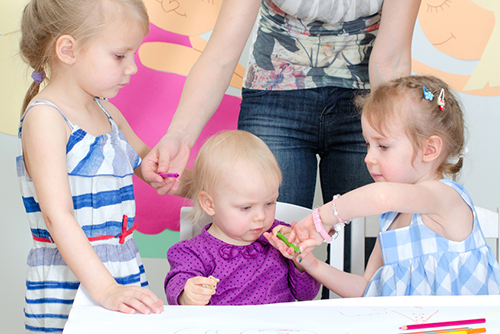 Тестове и за децата в детската градина