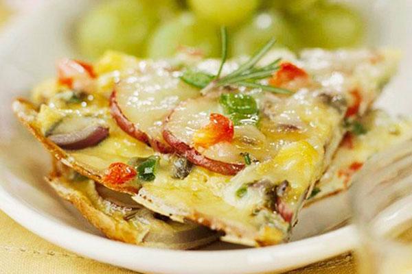 Фритата – гениално просто и по италиански вкусно