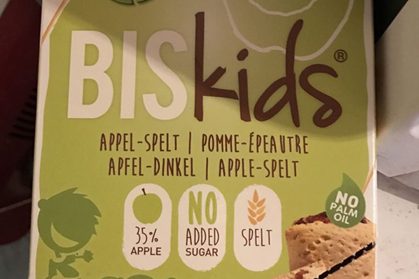 Спряха от продажба детски био бисквити