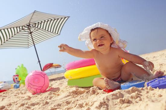 Полезни съвети за безопасността на децата през лятото