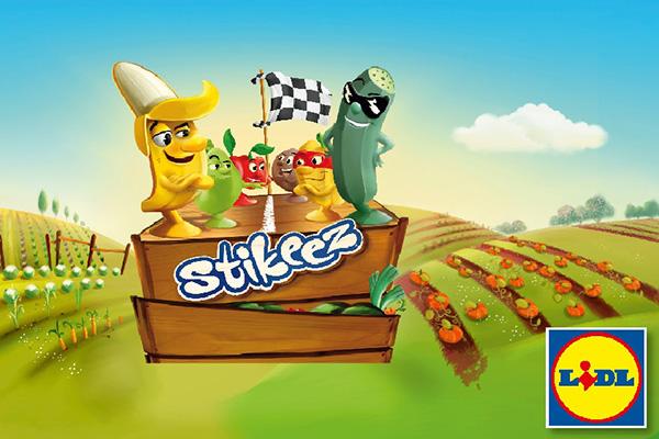STIKEEZ – плодове и зеленчуци в новата игра на LIDL
