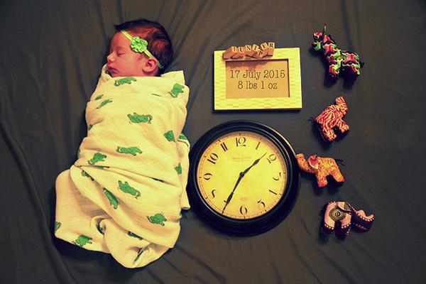 Часът на раждане