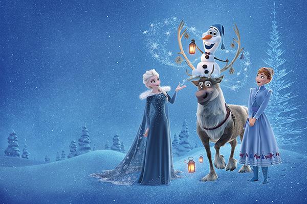Направи с мама: Коледа с Олаф – разпечатай и се забавлявай!