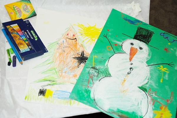 Коледни картички - Карин дом