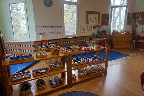 Монтесори Къща в Карин дом обявява полудневен прием на деца от 2 до 5 години