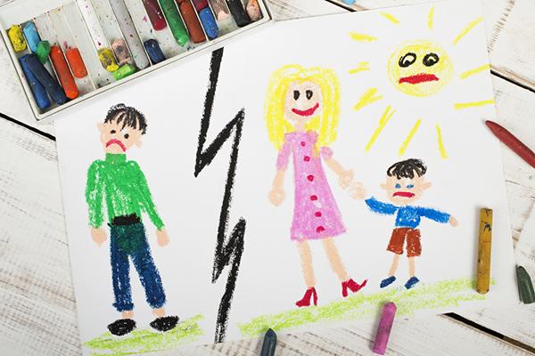 За майките, които остават нещастно омъжени, заради децата
