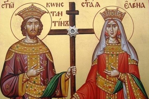 21 май: Честваме Св. Равноапостоли Константин и Елена