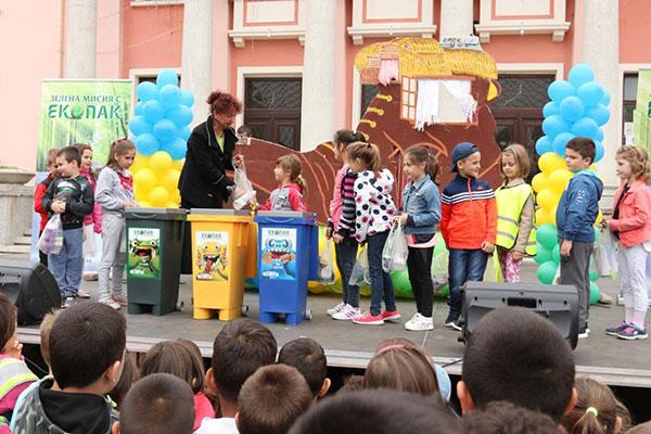 Деца от Карнобат научиха за разделното събиране на отпадъците