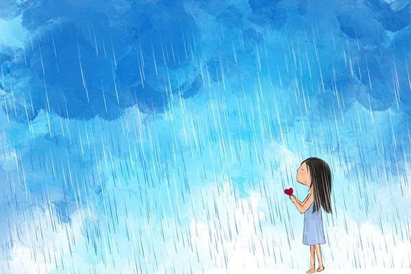 Приказка за малко пораснали деца: Защо плачат облаците