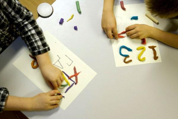 Направи с мама: Триизмерна азбука с пластилин