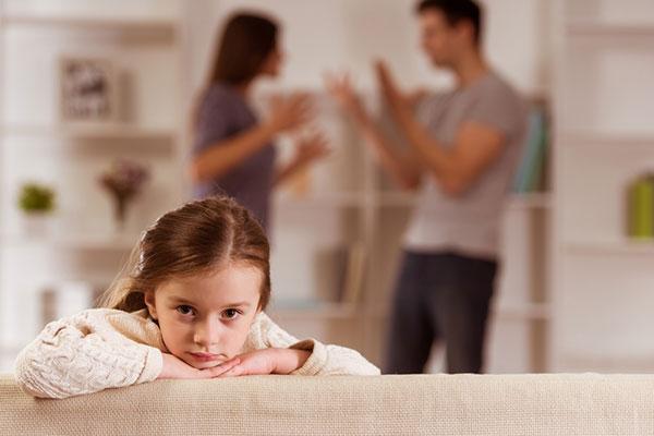 Децата и родителските конфликти