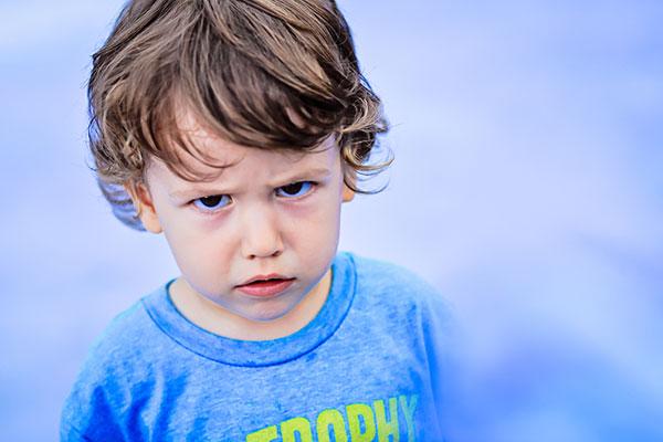 Детето, което се ядосва