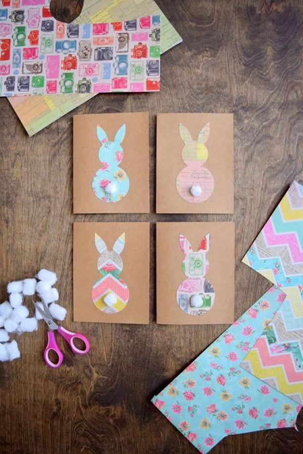 Сделай с мамой: красивые пасхальные открытки