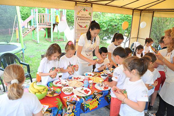 7000 деца от цялата страна ще приготвят здравословна и вкусна храна на 17 и 18 май