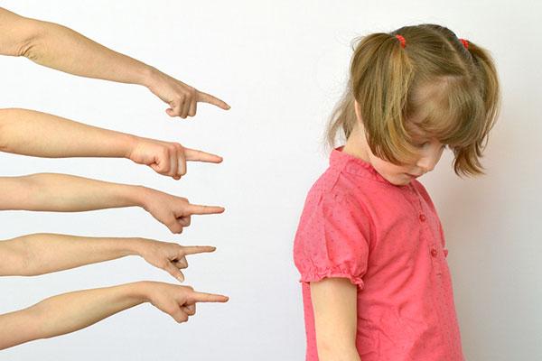 Токсичните ефекти от засрамването на децата