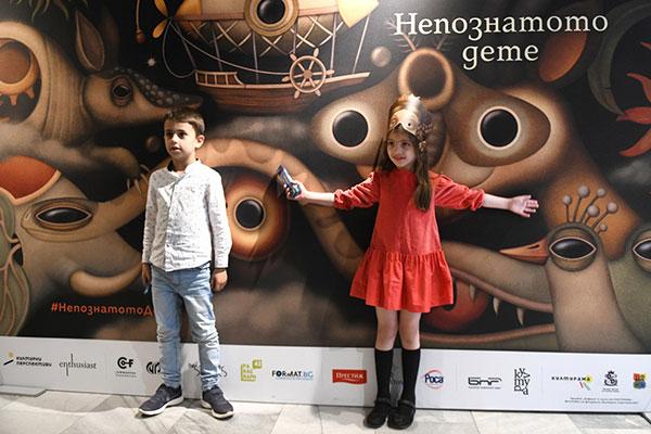 """С уникален спектакъл бе представена музикалната книга """"Непознатото дете"""""""