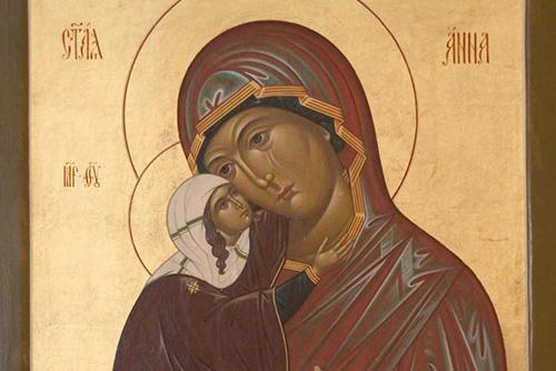 Света Ана – покровителка на женското начало и майчинството