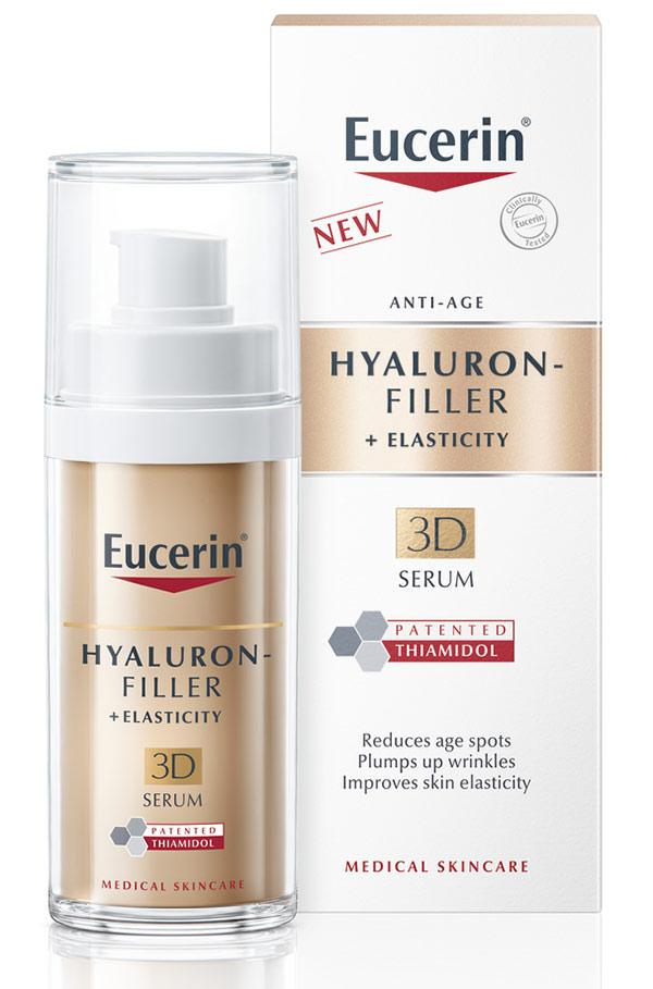 Новият Eucerin® Hyaluron-Filler + Elasticity 3D Серум